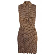 Point Collar Dress